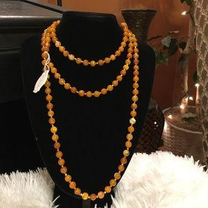 "IRIS & LILY London,Citrus Pearl 60"" Long, NWT"